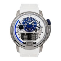 HYT pre-owned Manual winding 49mm Silver 3 ATM