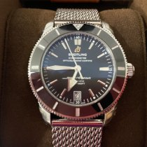 Breitling Superocean Heritage II 42 Steel 42mm Black No numerals United States of America, Massachusetts, Oxford