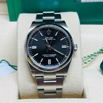 Rolex Oyster Perpetual 36 Steel 36mm Black No numerals United States of America, Florida, West Palm Beach