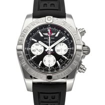 Breitling Chronomat 44 GMT Acero 44mm Gris Arábigos