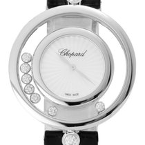 Chopard Happy Diamonds Bílé zlato 32mm