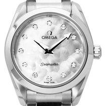 Omega 220.10.28.60.55.001 Acier 2021 Seamaster Aqua Terra 28mm occasion