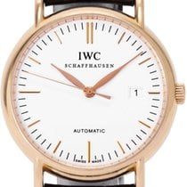 IWC Rose gold 38mm Automatic IW356306 pre-owned