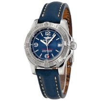Breitling Colt Oceane Steel 33mm Blue Arabic numerals United States of America, New York, Greenvale