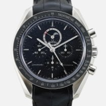 Omega Speedmaster Professional Moonwatch Moonphase подержанные 44mm Кожа