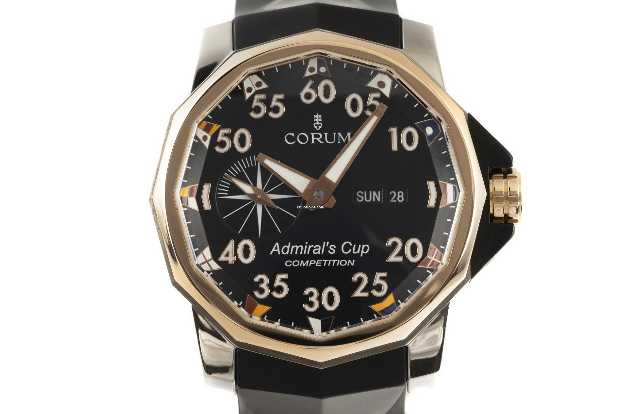 Corum Admiral's Cup (submodel) 01.0002 2010 pre-owned