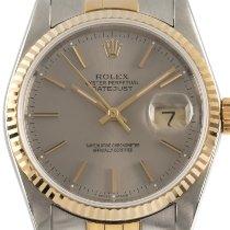 Rolex 16233 Золото/Cталь 1988 Datejust 36mm подержанные