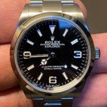 Rolex Explorer Stahl 36mm Schwarz Arabisch Deutschland, Dortmund