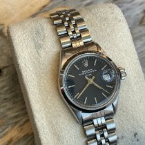 Rolex Oyster Perpetual Lady Date Gold/Steel 26mm Silver No numerals United Kingdom, London