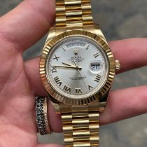 Rolex Day-Date II Oro giallo 41mm Bianco Romani Italia, Senigallia