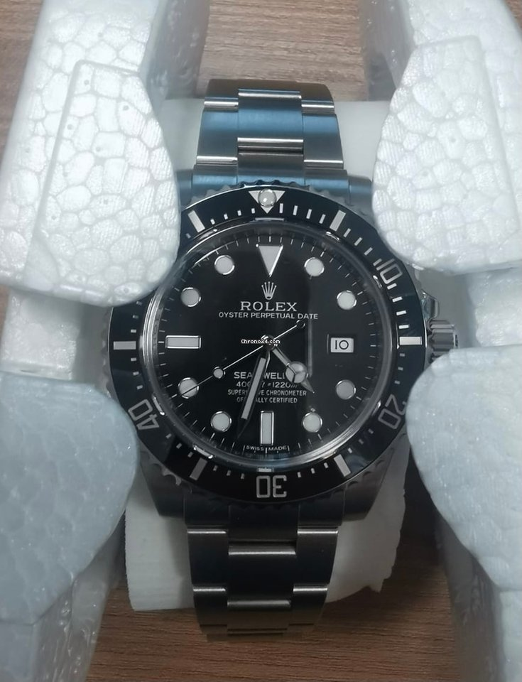 Rolex Sea-Dweller 4000 116600 2015 nieuw