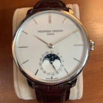 Frederique Constant Manufacture Slimline Moonphase Steel 42mm Silver No numerals United States of America, Minnesota, Saint Paul