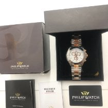 Philip Watch Caribe new Quartz Chronograph Watch with original box and original papers 55375