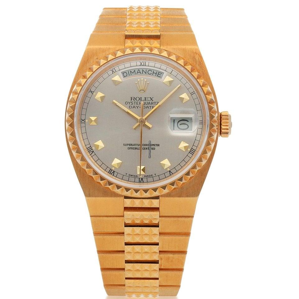Rolex Day-Date Oysterquartz 19028 1987 tweedehands
