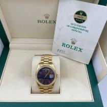 Rolex Day-Date 36 Oro giallo 36mm Blu Senza numeri Italia, Roma