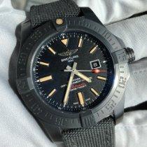 Breitling Avenger Blackbird pre-owned 48mm Black Date Textile