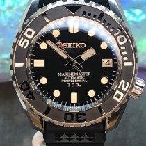Seiko Marinemaster Steel 44mm Black No numerals United States of America, New York, Troy