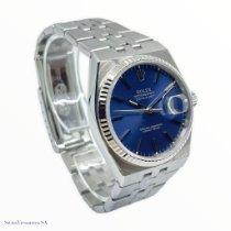 Rolex Datejust Oysterquartz Acero 36mm Azul Sin cifras
