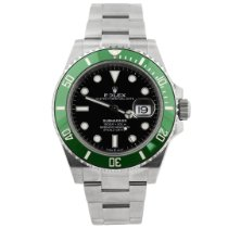 Rolex pre-owned Automatic 41mm Black Sapphire crystal 30 ATM