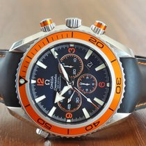 Omega Seamaster Planet Ocean Chronograph 2918.50.82 Very good Steel 45,5mm Automatic