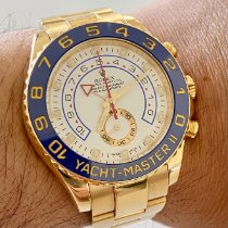 Rolex Yacht-Master II 116688 Sehr gut Gelbgold 44mm Automatik Schweiz, lugano