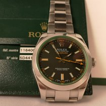 Rolex Milgauss Acciaio 40mm Nero Senza numeri Italia, roma