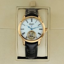 Glashütte Original Senator Meissen Tourbillon Rose gold 40mm White United States of America, New York, Airmont