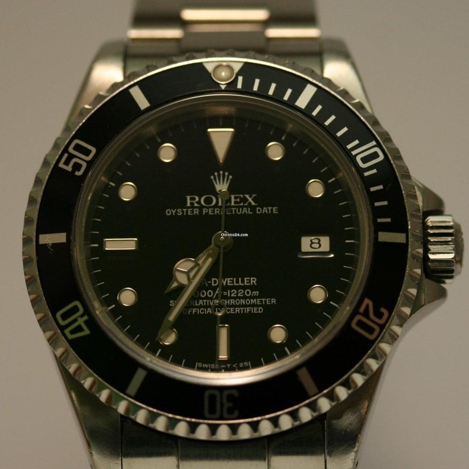 Rolex Sea-Dweller 4000 16600 2003 usados