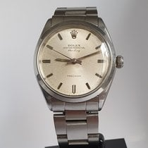 Rolex Air King Precision Steel 34mm Silver No numerals United Kingdom, Sheffield
