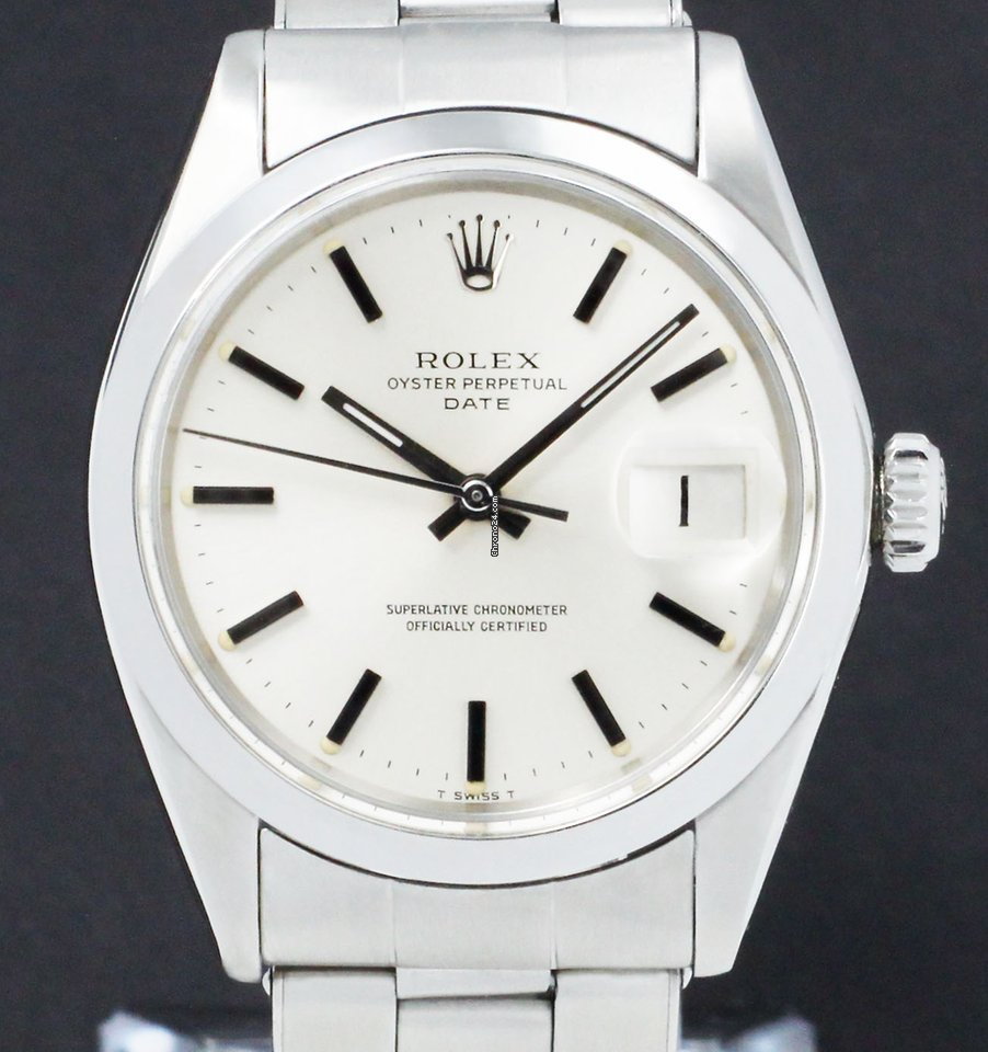 Rolex Oyster Perpetual Date 1500 1971 occasion