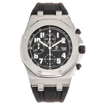Audemars Piguet 26020ST.OO.D001IN.01.A Steel 2007 Royal Oak Offshore Chronograph 42mm pre-owned