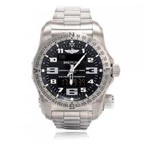 Breitling Emergency new 2021 Quartz Watch with original box and original papers E76325HA/BC02/159E