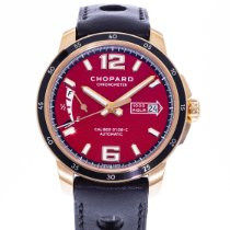Chopard Rose gold Automatic Red 43mm pre-owned Mille Miglia