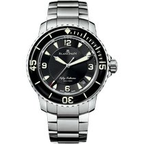 Blancpain Steel 45mm Automatic 5015-1130-71S new