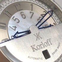 Korloff Steel 40mm Automatic 2131674529881 pre-owned