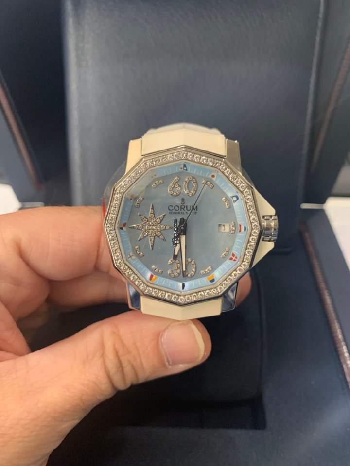 Corum Admiral's Cup Competition 40 082.961.47/F379 2008 pre-owned