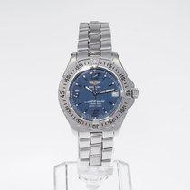 Breitling Colt Oceane Stahl 35mm Blau Arabisch Deutschland, Hannover