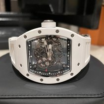 Richard Mille Ceramic Manual winding Transparent No numerals 49.9mm pre-owned RM 055