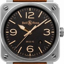 Bell & Ross BR 03 BR0392 Unworn Steel 42mm Automatic