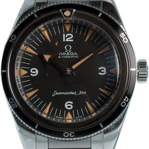 Omega Seamaster 300 Steel 39mm Black Arabic numerals