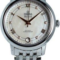 Omega De Ville Prestige nuevo 2021 Automático Reloj con estuche y documentos originales 424.10.33.20.55.002