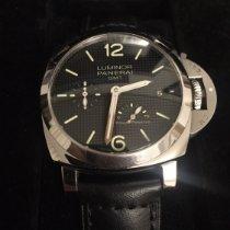 Panerai Luminor 1950 3 Days GMT Power Reserve Automatic Acier 42mm Noir Arabes Belgique, bxl