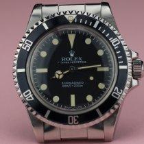 Rolex Submariner (No Date) usato 40mm Nero Acciaio