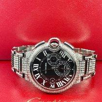 Cartier Ballon Bleu 44mm Steel 44mm Black Roman numerals United States of America, California, Pleasanton