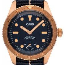 Oris Carl Brashear 01 401 7764 3185-Set Neu Bronze 40mm Automatik Deutschland, Schwabach