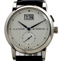 A. Lange & Söhne Saxonia White gold 34mm Silver United States of America, New York, Westchester County