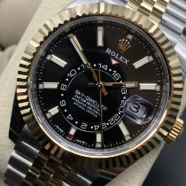 Rolex Sky-Dweller Gold/Steel 42mm Black No numerals United States of America, Texas, San Antonio