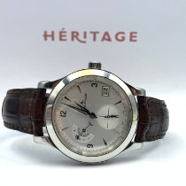 Jaeger-LeCoultre 147.8.05.S Steel 2010 Master Hometime 40mm pre-owned