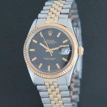 Rolex Datejust Goud/Staal 36mm Zwart Nederland, Maastricht