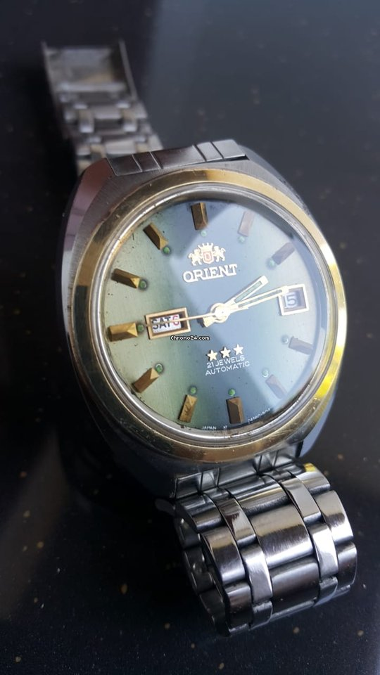 Orient Star G914560G 1980 pre-owned